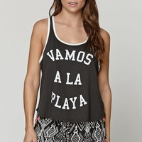 Billabong Vamos La Playa Tank - Womens Tee - Black