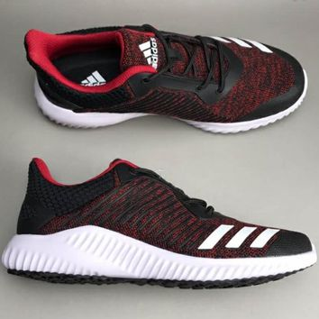 Adidas FortaRun K Alpha Series breathable comfort shoes F-CSXY red