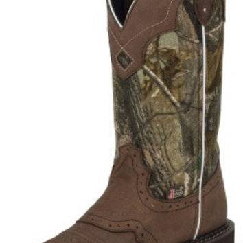 Justin Women's Gypsy Boots, Aged Bark Real Tree Top L9609