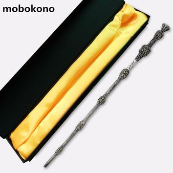 mobokono Magic Wand Harry Potter Wand 37cm Dumbledore scripture Edition Non-luminous wand with box
