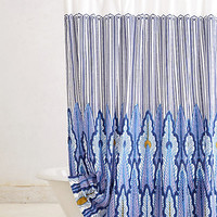 Peacock Quills Shower Curtain