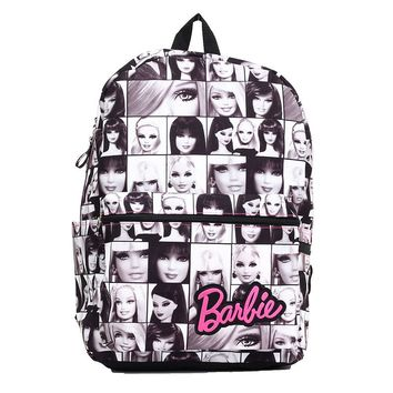 Barbie Photo Backpack- Kids (White/Black)