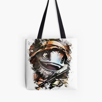 'Fisherman FIZZ' Tote Bag by Naumovski