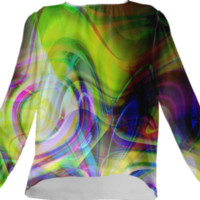 colorful abstract created by haroulita | Print All Over Me