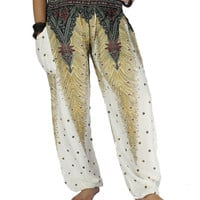Peacock pants Unisex pants Hippie clothes Elephant pants Harem pants Thai pants Gypsy pants  Palazzo pants Hippie pants Elephant clothes