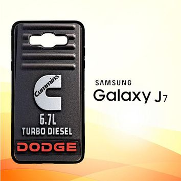 Cummins Turbo Diesel X4416 Samsung Galaxy J7 Edition 2015 SM-J700 Case
