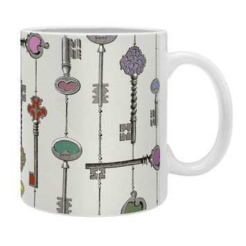 Belle13 Love Is The Key Coffee Mug