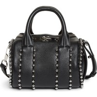 Alexander Wang Mini Rockie Studded Leather Crossbody Satchel | Nordstrom