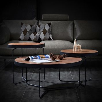 Industrial Style Round Table