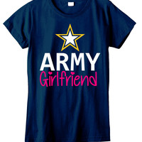 Army Girlfriend Womens T-shirt