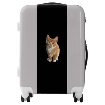 Sweet Adorable Kitten Luggage