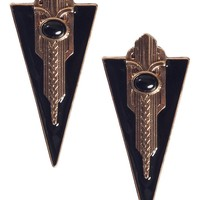 Gatsby Triangle Earrings - What's New | GYPSY WARRIOR