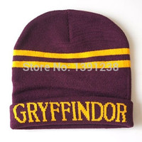 Fashion New Arrival New Beanie Cosplay Harry Potter Gryffindor Cap Hat/Cap Costume
