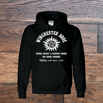 Supernatural Shirt, Winchester and Sons, supernatural hoodie, Winchester Brothers, Winchester Bros.