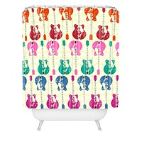 Sharon Turner Candy Rock Shower Curtain