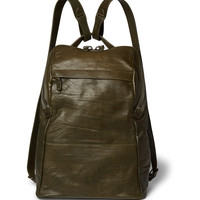 Álvaro - Agape Washed-Leather Backpack