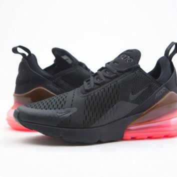 Nike Men Air Max 270 Black Hot Punch