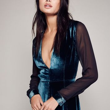 Free People Amelina Velvet Dress