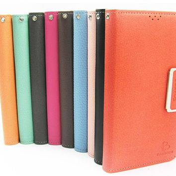 LG G3 / LG G4 Baumus Leather Diary Wallet Case