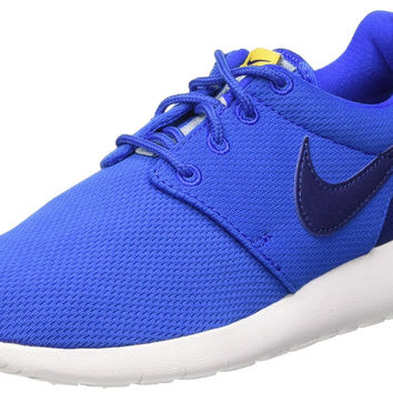 Nike Youth's Roshe One GS Blue/White Sneakers 599728 417
