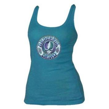 Grateful Dead Womens Batik Stealie Tank Top
