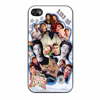 Cameron Dallas Collage Funny iPhone 4 Case