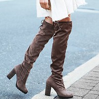Womens North Star Over the Knee Boot