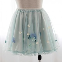 Pretty Mint Fairy Skirt