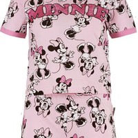 Melissa Minnie AOP Short Set | Boohoo
