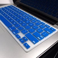 TopCase® ROYAL BLUE Keyboard Silicone Cover Skin for Macbook 13