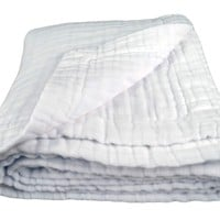 Organic Cotton 6 Layer Muslin Blanket