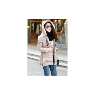 Winter Women Wadded Jacket Red Female Outerwear Plus Size 5XL Thickening Casual Down Cotton Wadded Coat Women Parkas