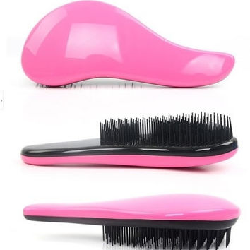 Magic Detangling Handle Tangle Shower Tamer Hair Brush Comb Salon Styling Tool = 1945893380