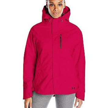 Under Armour Women's ColdGear Infrared Sienna 3-In-1 Jacket, Fury/Ox Blood, L...