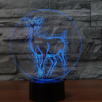 Deer Harry potter 3D  Lamp 8 Changeable Color [FREE SHIPPING]