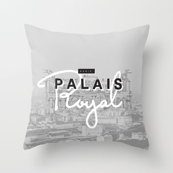 Palais Royal Throw Pillow by Kavan And Co