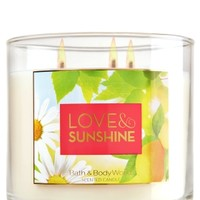 3-Wick Candle Love & Sunshine