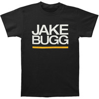 Jake Bugg Men's  Stacked Name Logo 2014 Date T-shirt Black