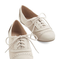 ModCloth Menswear Inspired Subtle Statement Flat