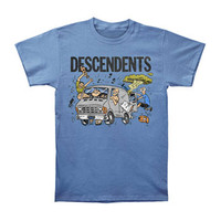 Descendents Men's  Van T-shirt Blue