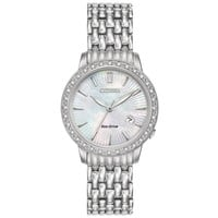 Ladies' Citizen Eco-Drive Diamond Mother-of-Pearl Dial Watch