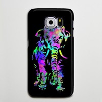 Elephant Turquoise Purple Galaxy S8 Plus Case Galaxy S7 Case Samsung Galaxy Note 5  Phone Case s6-011