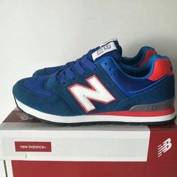 CREYONV new balance 574 sport casual unisex n words retro sneakers couple running shoes  1
