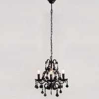 Mini Sexy Rexy Black Chandelier