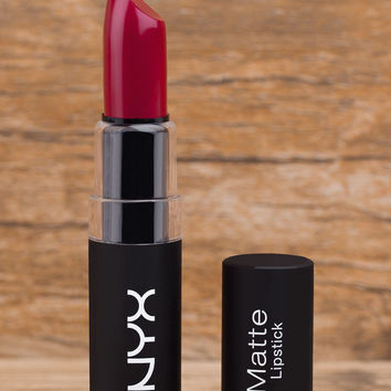 NYX Matte Lipstick - Alabama