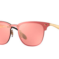Ray-Ban BLAZE CLUBMASTER Gold, RB3576N | Ray-Ban® USA