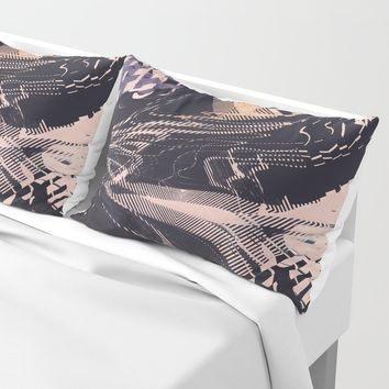 Static Pillow Sham by duckyb