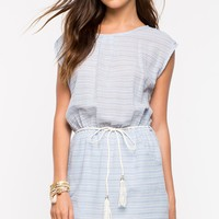 Baby Blues Stripe Boatneck Dress