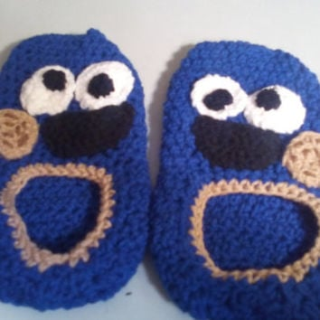 Free Crochet Pattern For Monster Slippers : Shop Crochet Monster on Wanelo