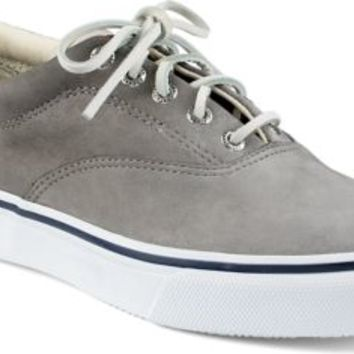 Sperry Top-Sider Striper CVO Washable Sneaker Gray, Size 9.5M  Men's Shoes